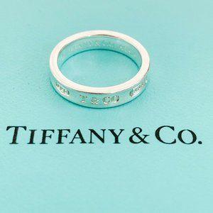 Tiffany & Co. | 1837 Narrow Band Ring Size 4.75